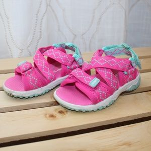 CARTERS Size 5 Toddler Girls Water Shoes Pink